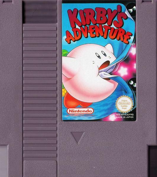 KIRBY'S ADVENTURES NES