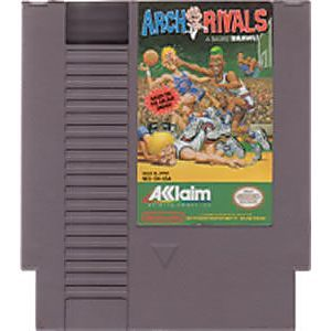 ARCH RIVALS A BASKETBALL BRAWL NES