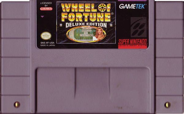 WHEEL OF FORTUNE DELUXE EDITION SNES