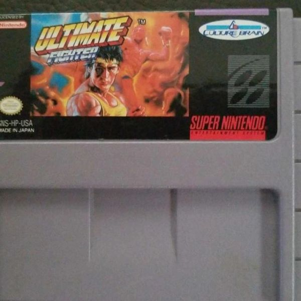 ULTIMATE FIGHTER SNES