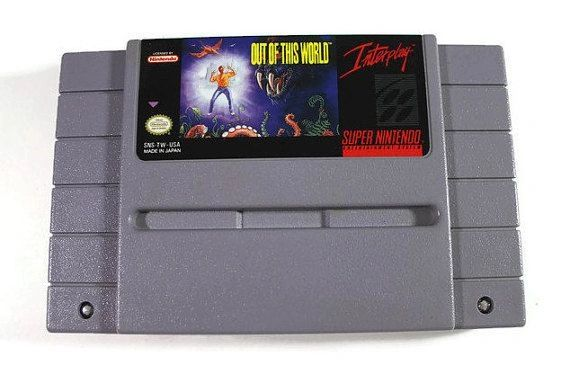 OUT OF THIS WORLD SNES