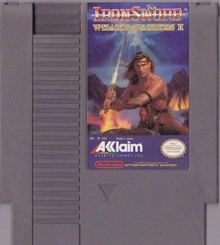 IRON SWORD WIZARDS OF WARRIORS 2 NES