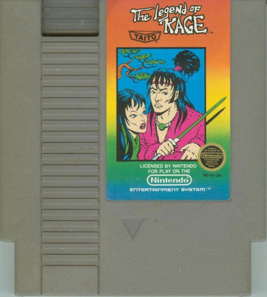 THE LEGEND OF KAGE NES