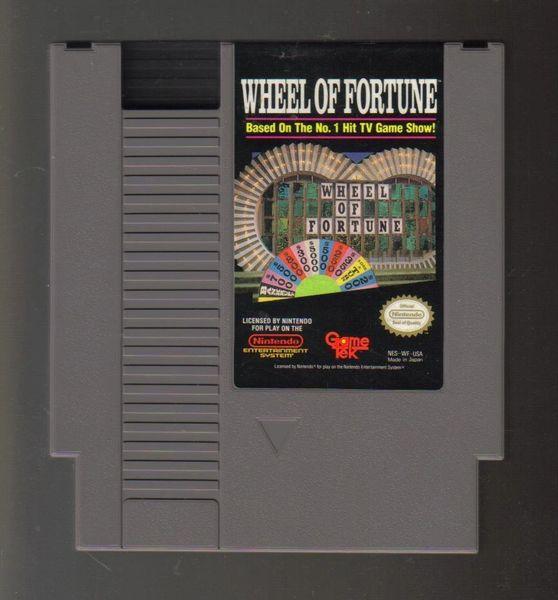 WHEEL OF FORTUNE NES