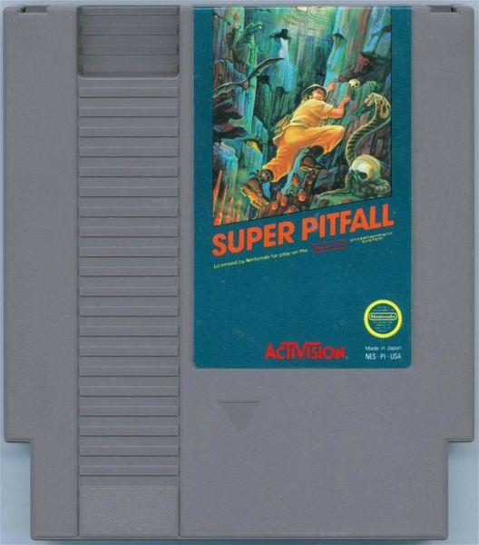 SUPER PITFALL NES