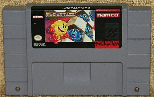 PAC-ATTACK SNES