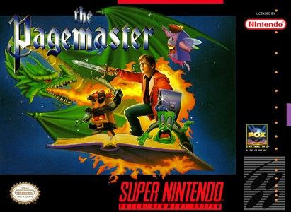 THE PAGEMASTER SNES