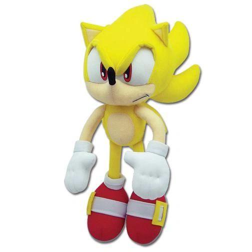 Super Sonic Plush GE-8958 Authentic Licensed product