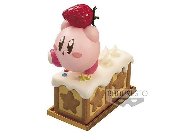 Banpresto : Kirby with strawberry Paldolce Collection Vol. 2 Mini Figure