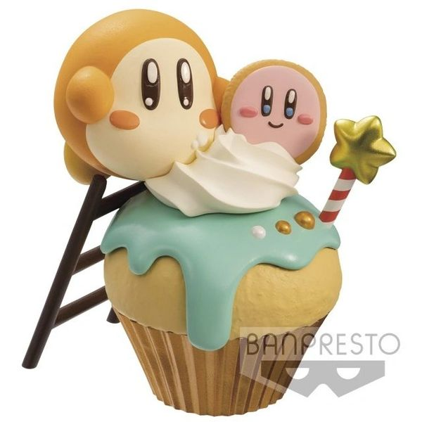 Banpresto : Kirby - Waddle Dee Cupcake Paldolce Collection Vol. 2 Mini Figure