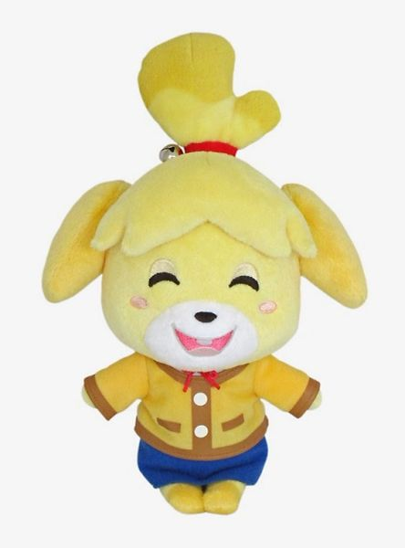 Little Buddy : Animal Crossing - Smiling Isabelle 6 inch Plush