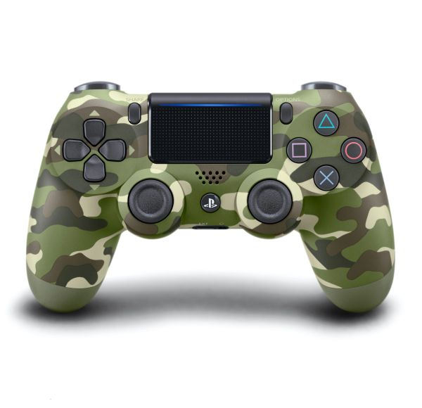 Sony PS4 Green Camouflage Controller