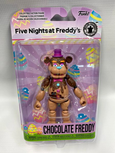 FNAF CHOCOLATE SERIES - CHOCOLATE FREDDY ARTICULATED FIGURE
