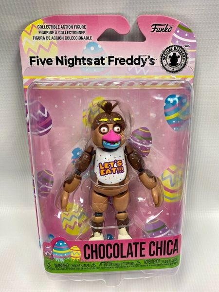 FNAF CHOCOLATE SERIES - CHOCOLATE CHICA ARTICULATED FIGURE