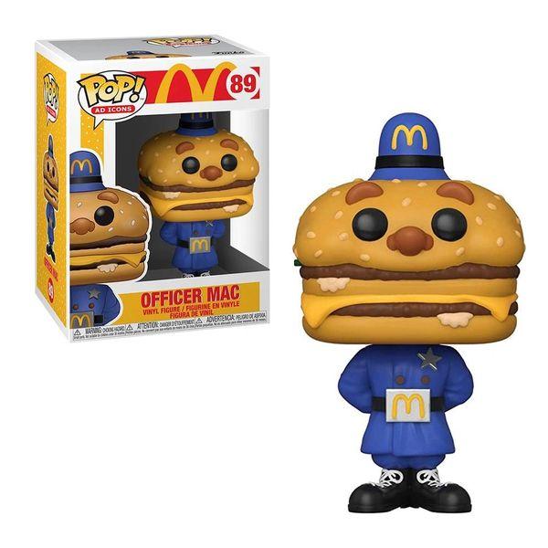 FUNKO POP! AD ICONS: MCDONALDS - OFFICER MAC #89