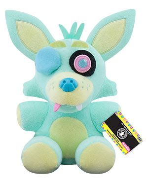 """FNAF *NEW SERIES* SPRING COLORWAY - GREEN FOXY PLUSH 6"""""""