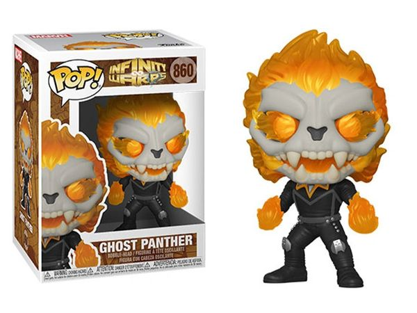 FUNKO POP! INFINITY WARPS - GHOST PANTHER #860