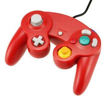 Gamecube Classic Controller Red