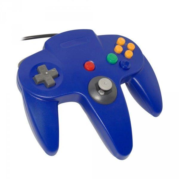 Nintendo 64 Blue Controller