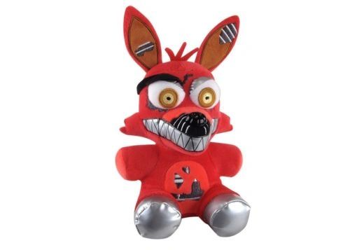 "Funko Five Nights at Freddy's FNAF Series 2 NIGHTMARE FOXY Plush Doll 6"" New NWT"