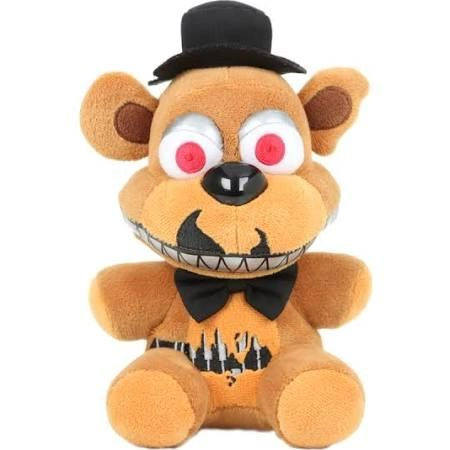 """FNAF Five Night's At Freddy's Nightmare Freddy 6"""" collectible plush"""