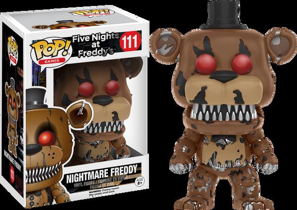 FNAF POP! GAMES: NIGHTMARE FREDDY VINYL FIGURE FUNKO