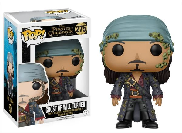 FUNKO POP! PIRATES OF THE CARIBBEAN - GHOST OF WILL TURNER #275