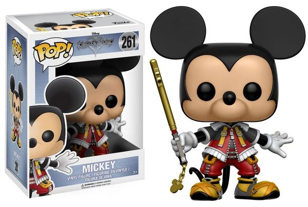 FUNKO POP! DISNEY: KINGDOM HEARTS - MICKEY #261