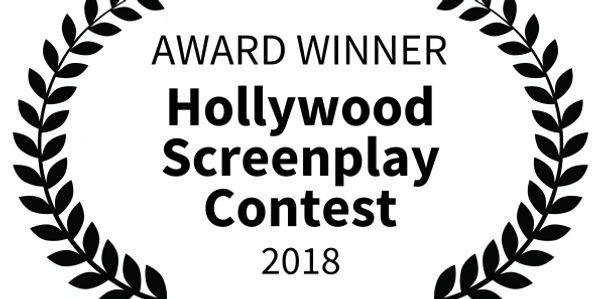 """In recognition of excellence in screenwriting at the 2018 Hollywood Screenplay Contest"""