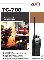 TC-700 Professional Two Way Radio