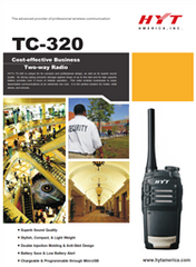 TC-320 Two Way Radio