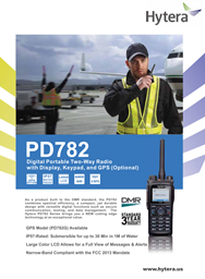 PD-782 Digital Portable Two Way Radio