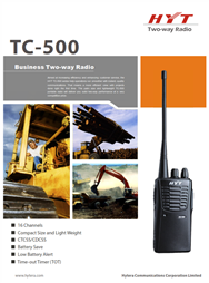 TC-500 Business Two Way Radio