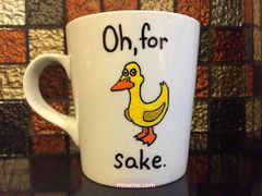 Oh For Duck Sake Coffee Mug