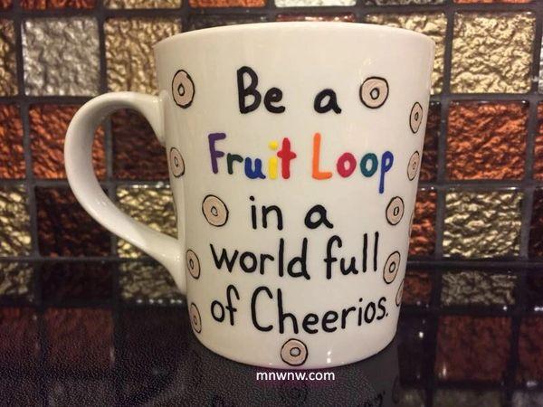 Be A Fruit Loop Coffee Mug