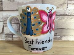 Peter and Muffy - Best Friends Forever Coffee Mug