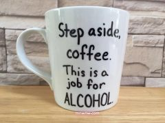 Step Aside Coffee Mug