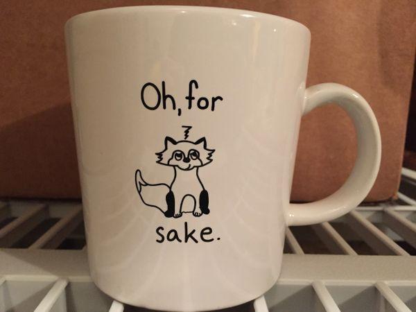 Oh, For Fox Sake Coffee Mug (Printed Version)