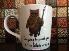 Punch in the Bitch Wrinkle Coffee Mug