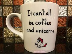 Coffee and Unicorns Mug