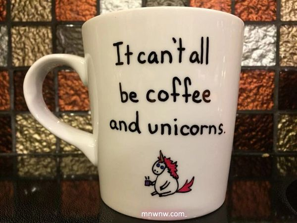 Coffee and Unicorns Mug
