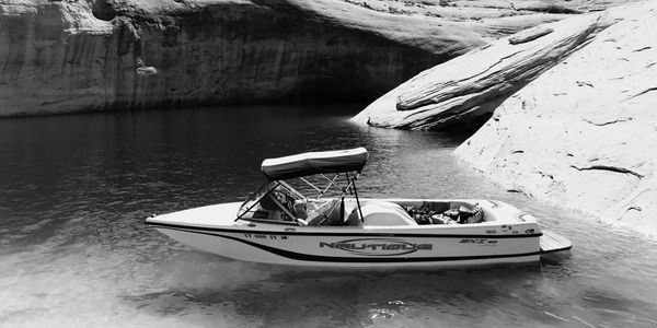 2005 Correct Craft Ski Nautique 196 Limited Edition in Antelope Canyon, Lake Powell.