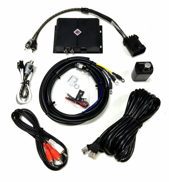 "Polaris Ride Command 2-Channel Subwoofer Line Driver - Required if adding an amplifier and subwoofer to Polaris Ride Command 7"" Display"