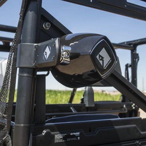 2018 - 2021 Polaris Ranger XP 1000 Rockford Fosgate Rear Speaker Add-On Kit - Works with all of our dash mounted audio kits