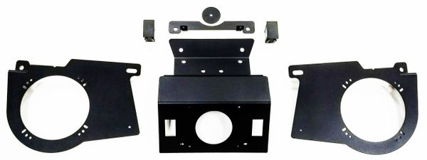 "2018 - 2021 Polaris Ranger XP 1000 / 1000 Radio Dash Mount and/or Speaker Mounts - Dash Mount fits Rockford PMX or Kicker KMC Media Receivers - Speaker Mounts fit 6"" - 6.5"" Speakers - Select Option Below"