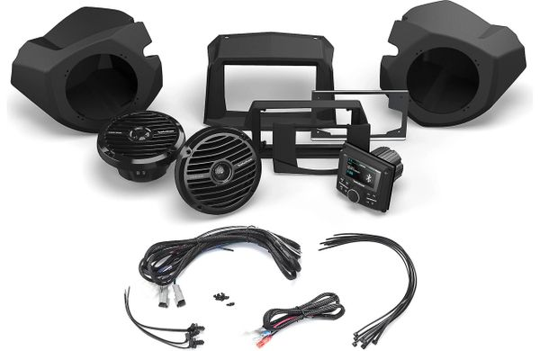 2014 - 2020 Polaris RZR XP 900 / XP 1000 Rockford Fosgate RZR14-STAGE2 - Exclusive Add-Ons Available