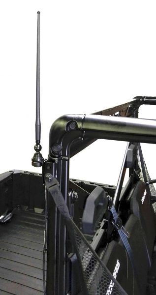 2013 - 2021 Polaris Ranger Full Size 570 / 900 / 1000 Amplified FM Antenna Kit - Works together with all cab systems - Only FM antenna on the market with a 100% money back guarantee