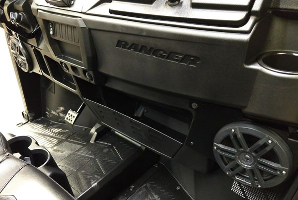 "2018 - 2021 Polaris Ranger XP 1000 / 1000 Dash Speaker Mounts with Rockford Fosgate 6.5"" Speakers - Optional Speaker Upgrade Available"