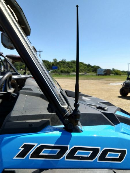 2014 - 2021 Polaris Razor RZR Amplified FM Antenna Kit - Only FM antenna on the market with a 100% money back guarantee