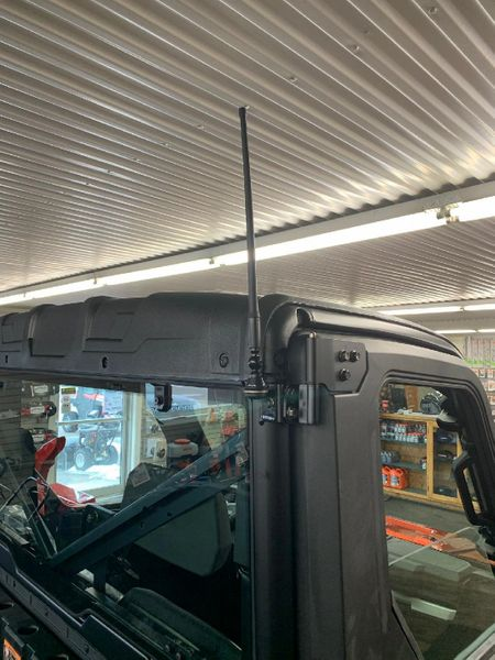 2015 - 2021 Polaris Ranger Full Size 570 / 900 / 1000 Amplified FM Antenna Kit - Works together with all cab systems - Only FM antenna on the market with a 100% money back guarantee